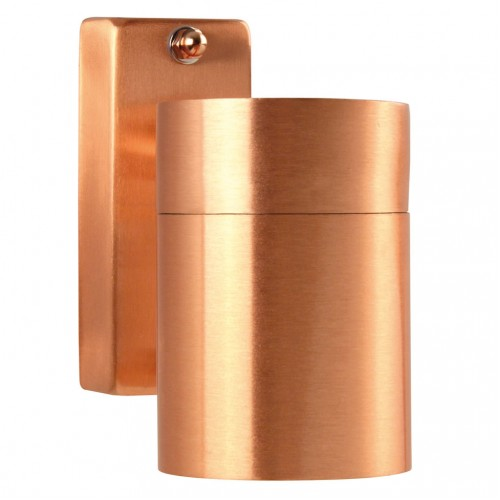 Nordlux Tin 240v wall down light copper