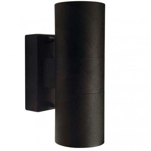 Nordlux Tin 240v wall up/down light black