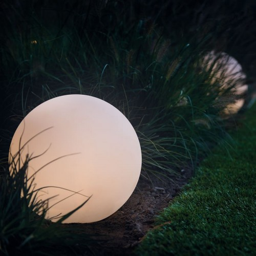 Techmar Round 30 Remote LED Multifunction & Multicolour Garden Ball 12v