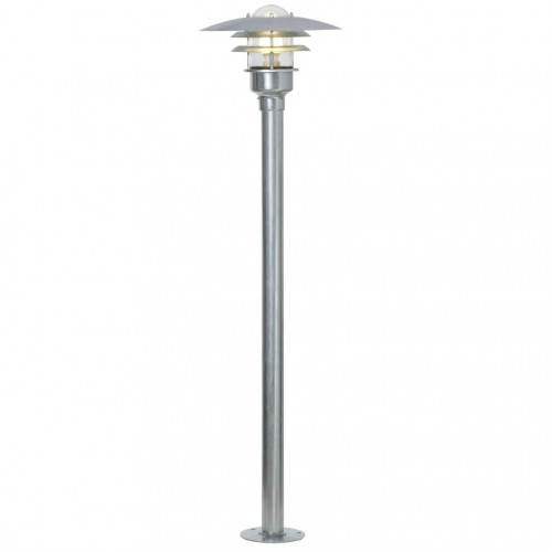 Nordlux Lonstrup 32 240v post light galvanized steel