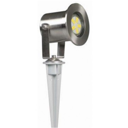 Luxform 12v Australia Spotlight - Stainless Steel - 1w LED