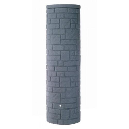 Technik Arcado 460L Charcoal Stone Pillar Style Water Butt Tank