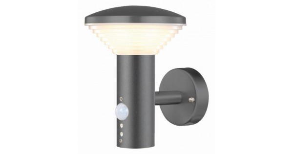 Luxform High Quality Wall Light With Pir Sensor : Luxform Bitburg 240v wall light with PIR sensor