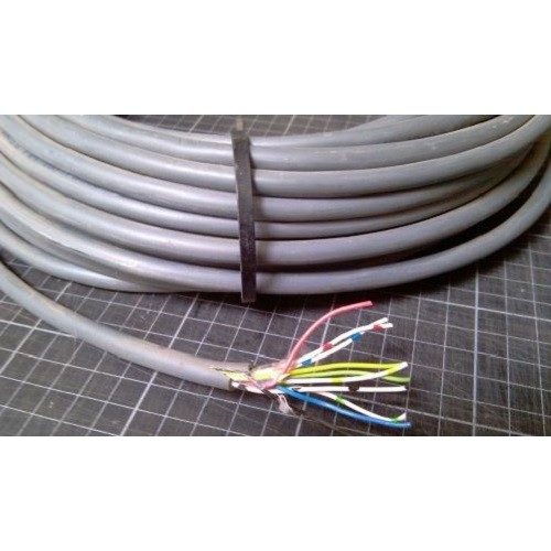 0.8mm 8 core Solenoid cable Low Voltage Wire - 100m