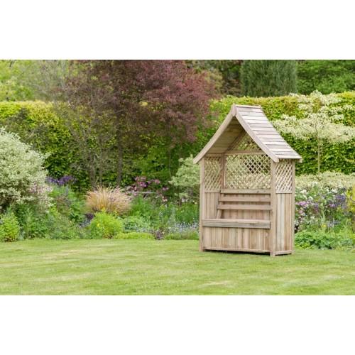 Garden Arbour With Storage