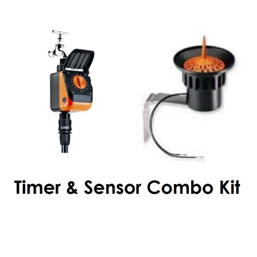 Claber Timer & Rain Sensor Starter Set