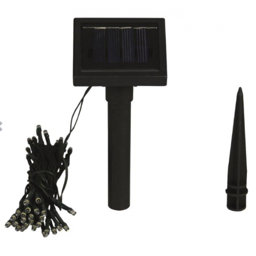 luxform string solar lights 100 lights. Black Bedroom Furniture Sets. Home Design Ideas