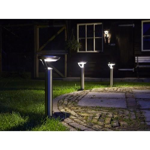 Luxform perpignan solar post light