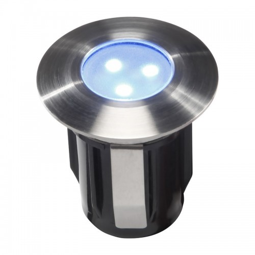 Techmar alpha 12v stainless steel deck light blue led 05w aloadofball Image collections